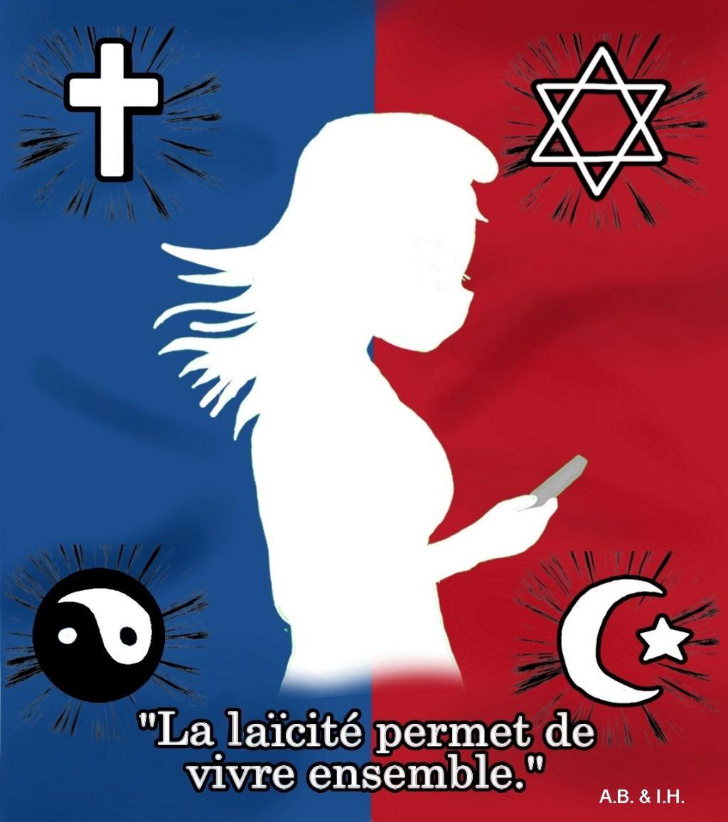 Leur expression de la Laïcité, le projet de l'équipe de langue.