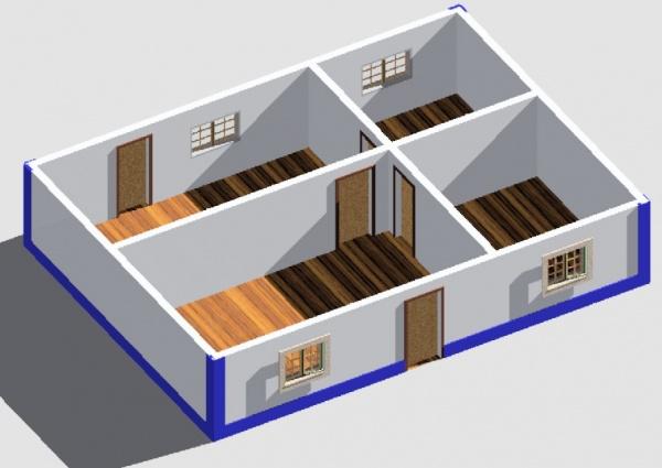 Maison d u pernes with maison 3d for Simulateur maison 3d