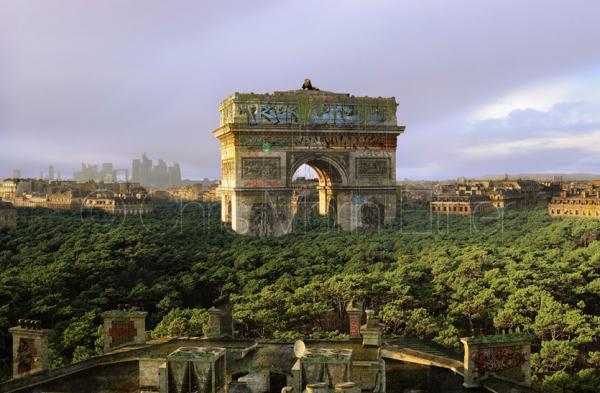 Paris vegetation