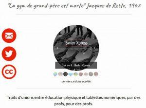 tablettes et survets
