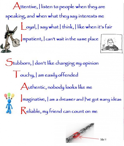 Acrostic Poem The Teacher S Blog