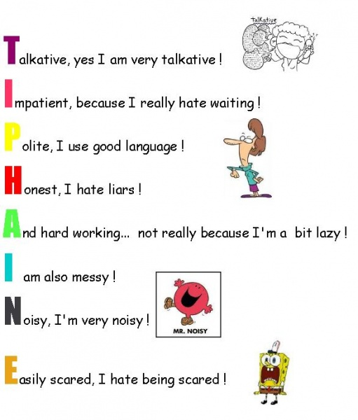 Acrostic Poem The Teacher S Blog