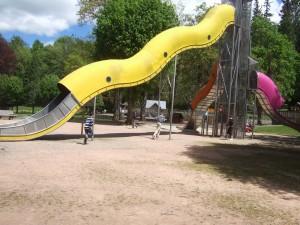 toboggan du parc