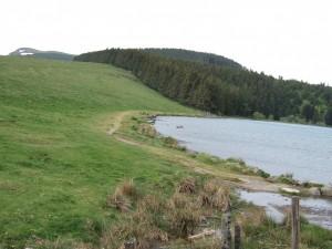 Le lac Servière