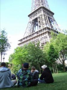 pique-nique au Trocadéro