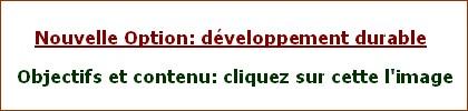 Option développement durable collège Jean Moulin Barbezieux