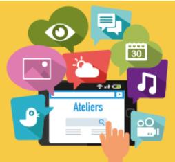 Ateliers numériques : demandez le programme