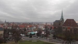 vue de Nürnberg sur la citadelle