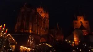 photo du Dom de Erfurt que nous avons visité