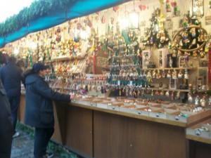 stand typique du Weihnachtsmarkt