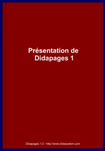 Présentation Didapage