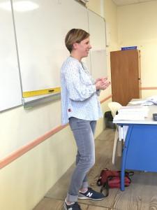 Mme Fauvel, journaliste au quotidien Sud-Ouest
