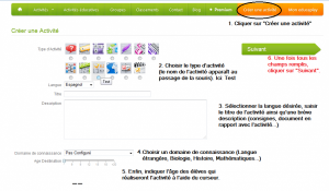 Educaplay-Creer une activite
