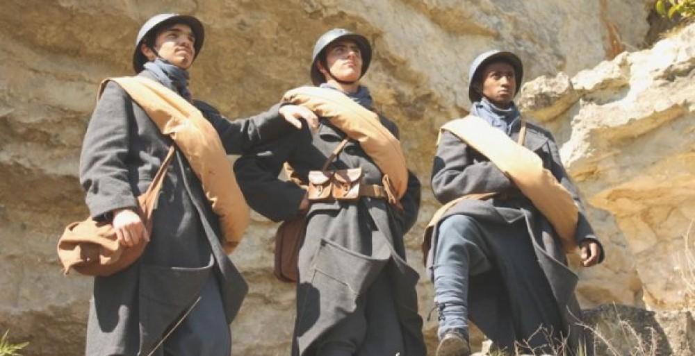 1914-Mission du centenaire-1918 /         Les élèves du LP2I à la recherche de leurs ancêtres.