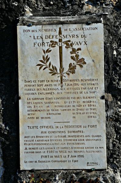 stele commemorative vaux