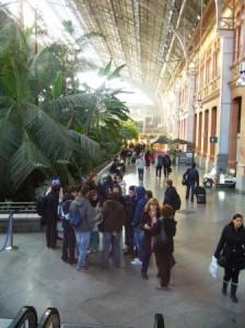 Gare Atocha et ses serres