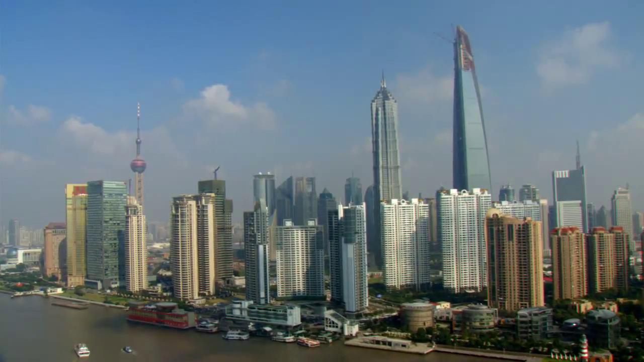Shangai : 3000 tours construites en 20 ans (Source : film Home de Yann Arthus Bertrand)