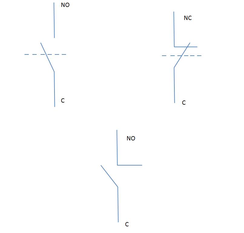 schema electrique equivalent avec ses 3 bornes