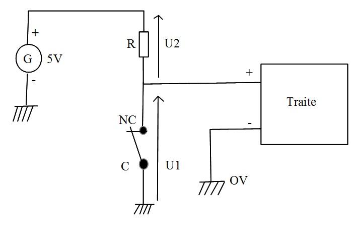 schéma de cablage de l'interrupteur