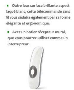Télécomande sans fil