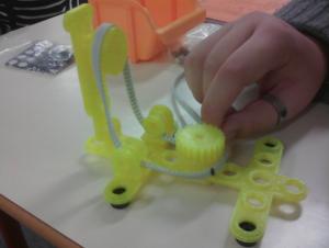 poignet robot kuka imprimé