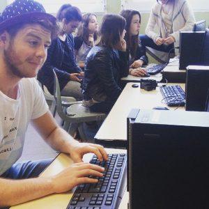 Les élèves au CDI 2