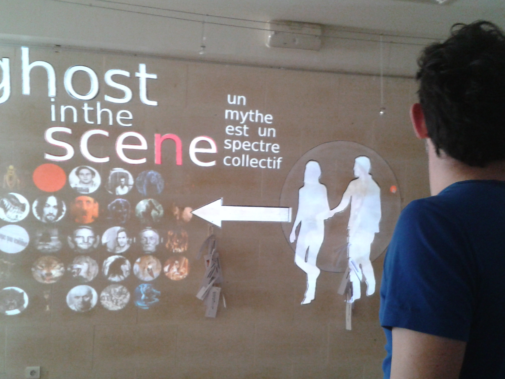 "Création du mur interactif ""Ghost in the Scene"""