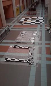 DECORS dans l'atrium