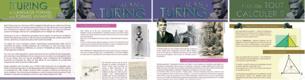 Expo Turing panneaux