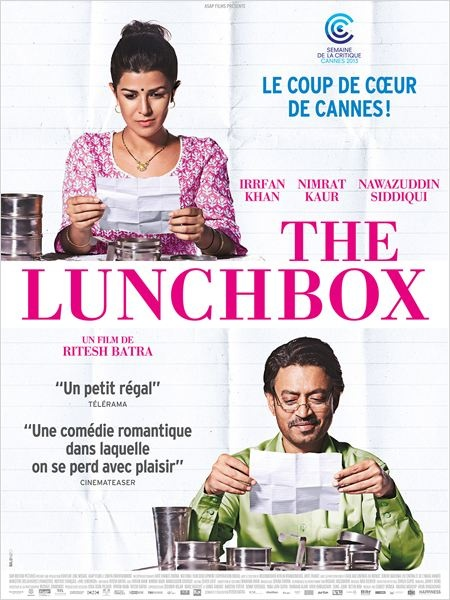 lunch box affiche du film