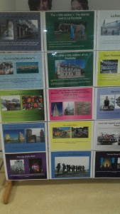 Exposition sur les lieux attractifs de La Rochelle et de sa région par les TECMS