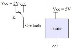 Schéma capteur de collision (source : collège Jean Macé)