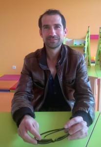 Pascal Mabille, responsable Enfance à la Maison de quartier SEVE