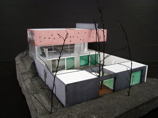 am nagements et rapprochement avec la maison de bordeaux rem koolhaas urbanopole. Black Bedroom Furniture Sets. Home Design Ideas